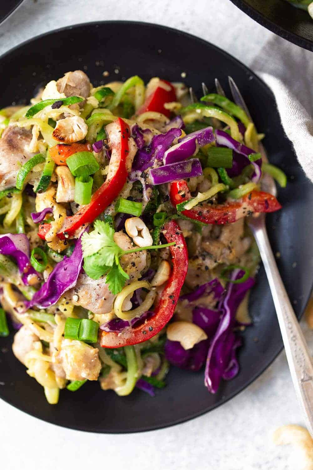 Whole30 Chicken Pad Thai recipe